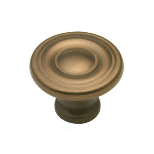 Hickory Hardware Conquest 1-1/8 Inch Diameter Veneti Bronze Cabinet Knob P14402-VBZ