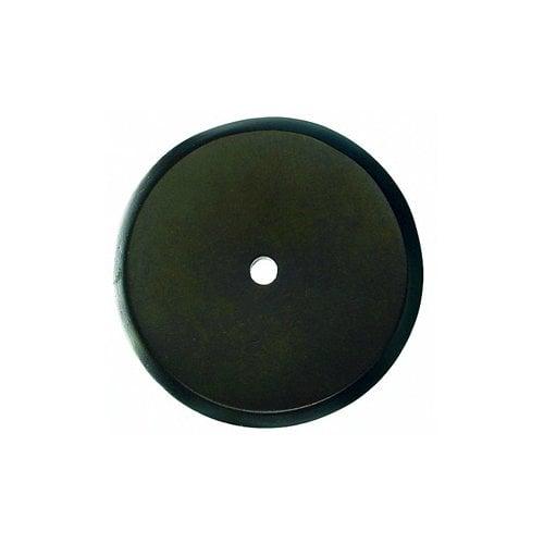 Top Knobs Aspen 1-3/4 Inch Diameter Medium Bronze Back-plate M1467