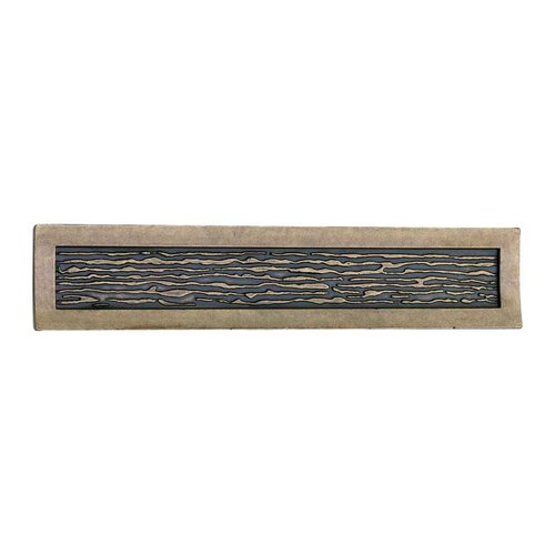 Atlas Homewares Primitive 3 Inch Center to Center Burnished Bronze Cabinet Pull 271-BB