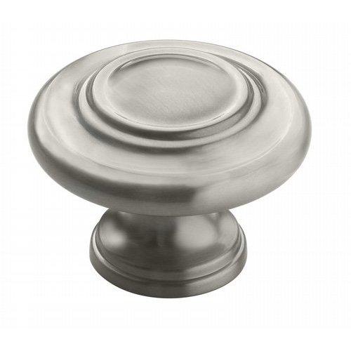 Amerock Inspirations 1-3/4 Inch Diameter Satin Nickel Cabinet Knob BP15862G10