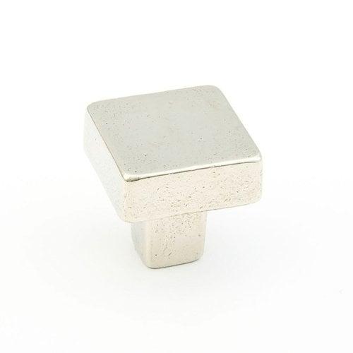 Schaub and Company Vinci Designs 1-3/16 Inch Diameter Polished White Bronze Cabinet Knob 789-PWB