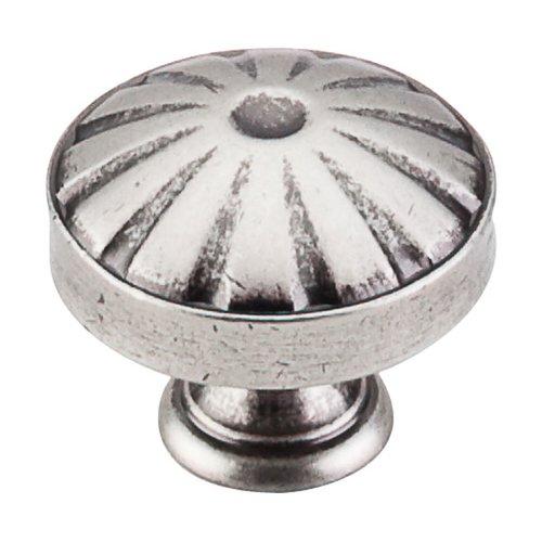 Top Knobs Dakota 1-1/4 Inch Diameter Pewter Antique Cabinet Knob M1223