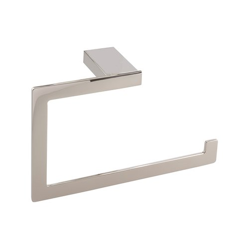 Atlas Homewares Parker Towel Ring Polished Nickel PATR-PN