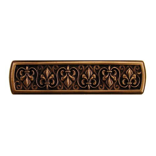 Notting Hill Olde World 3 Inch Center to Center Antique Copper Cabinet Pull NHP-660-AC