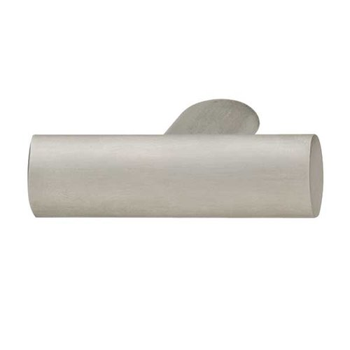 Hafele Bella Italiana 1-3/4 Inch Length Matte Stainless Steel Cabinet Knob 109.85.001