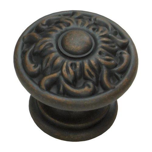 Schaub and Company Corinthian 1-3/8 Inch Diameter Michelangelo Bronze Cabinet Knob 870-MIBZ