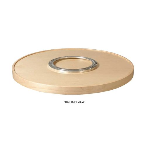 Century Components 28 inch Full Round Lazy Susan - 2 Shelf Set with Bearing MAG28FRPF
