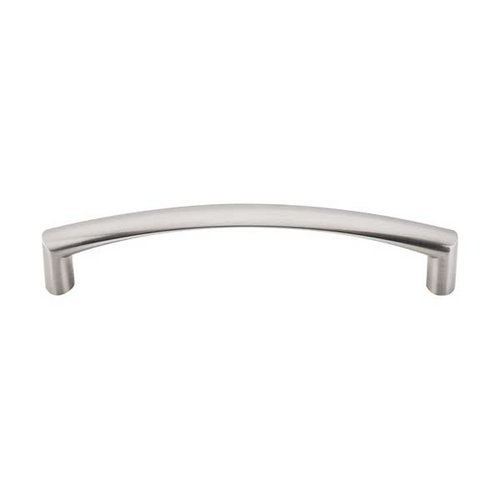 Asbury 5-1/16 Inch Center to Center Brushed Satin Nickel Cabinet Pull <small>(#M391)</small>