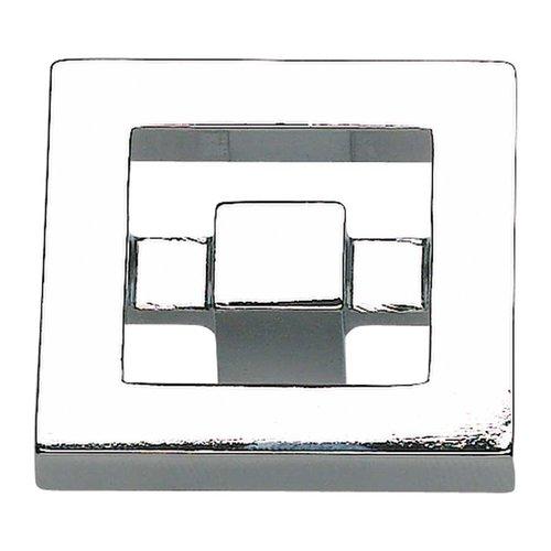 Atlas Homewares Nobu 1-3/8 Inch Diameter Polished Chrome Cabinet Knob 260-CH