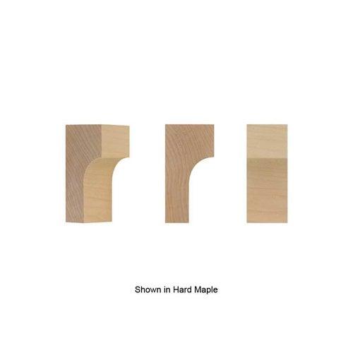 Brown Wood Petite Craftsman Bracket Unfinished Alder 01608001AL1