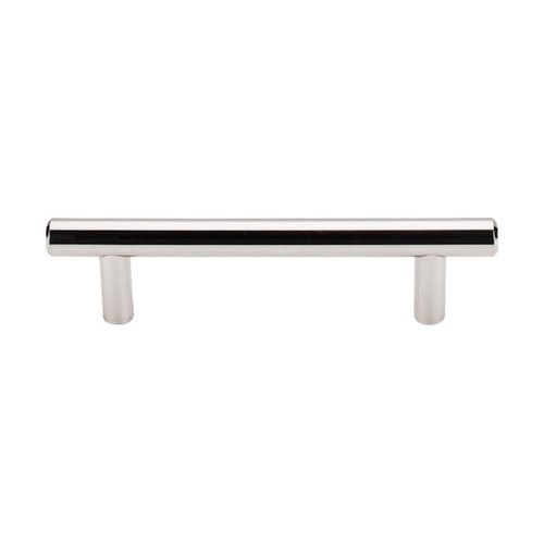 Asbury 3-3/4 Inch Center to Center Polished Nickel Cabinet Pull <small>(#M1270)</small>