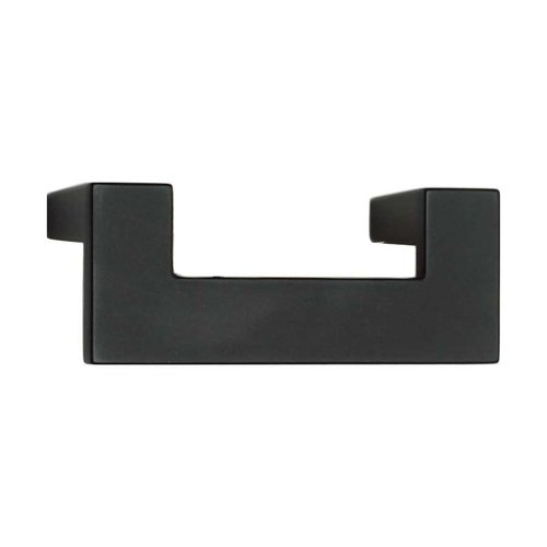 Atlas Homewares U-Turn 2-1/2 Inch Center to Center Black Cabinet Pull A846-BL