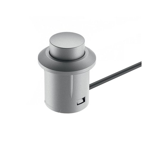 Loox Push Switch Wth Lead Silver Plastic <small>(#833.89.107)</small>