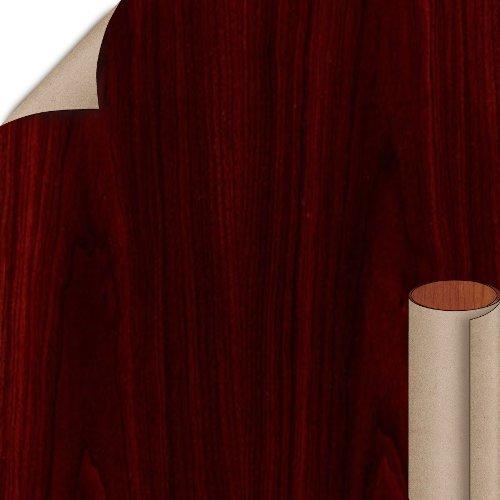 Wilsonart Empire Mahogany Textured Gloss Finish 4 ft. x 8 ft. Vertical Grade Laminate Sheet 7122TK-07-335-48X096