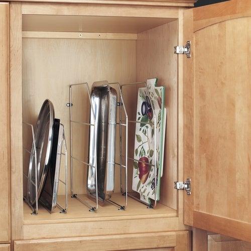 Rev-A-Shelf Tray Divider 12 inch - Chrome 597-12CR-50