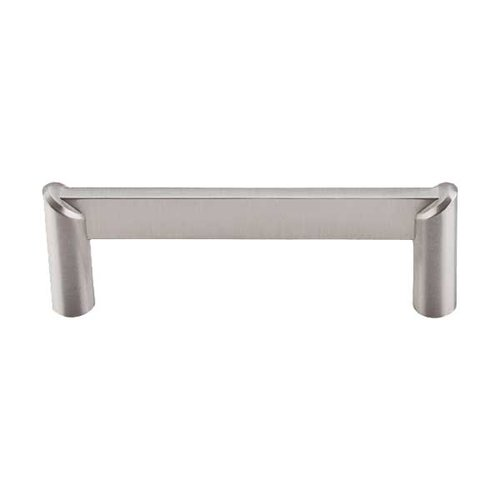Top Knobs Sanctuary II 3-1/2 Inch Center to Center Brushed Satin Nickel Cabinet Pull TK239BSN