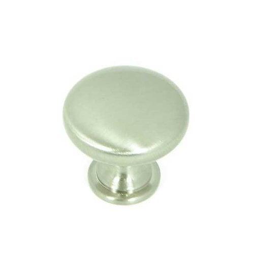 Stone Mill Hardware Princeton 1-1/4 Inch Diameter Satin Nickel Cabinet Knob CP2175-SN