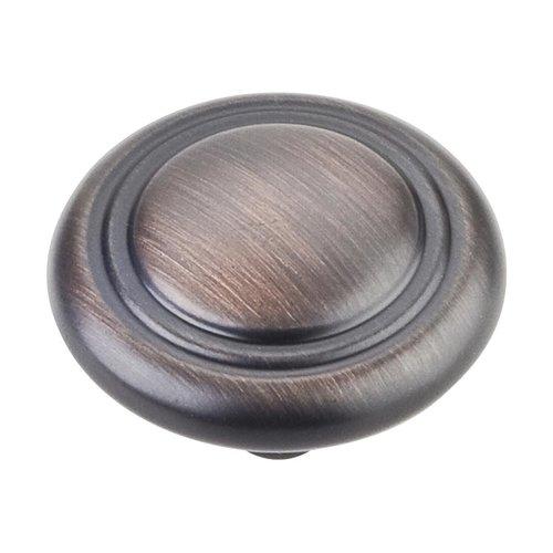 Elements by Hardware Resources Vienna 1-1/4 Inch Diameter Dark Brushed Antique Copper Cabinet Knob 202DBAC