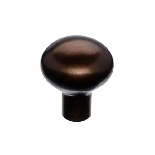 Top Knobs Aspen 7/8 Inch Diameter Mahogany Bronze Cabinet Knob M1548