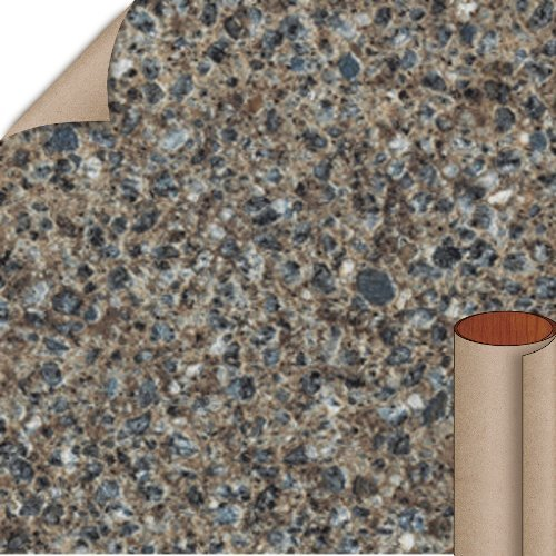 Nevamar Blue Lunaria Textured Finish 4 ft. x 8 ft. Countertop Grade Laminate Sheet LU3001T-T-H5-48X096