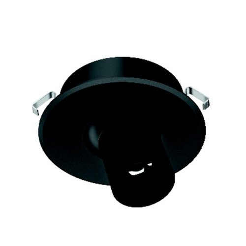 Hafele Loox 4012 350-mA LED Black Spotlight Cool White 833.78.091