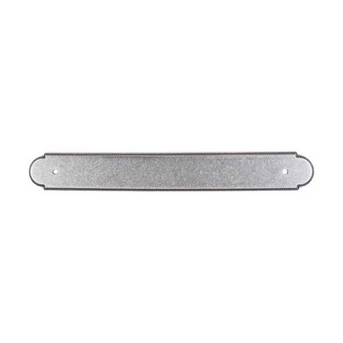 Top Knobs Appliance Pull 12 Inch Center to Center Pewter Back-plate M872