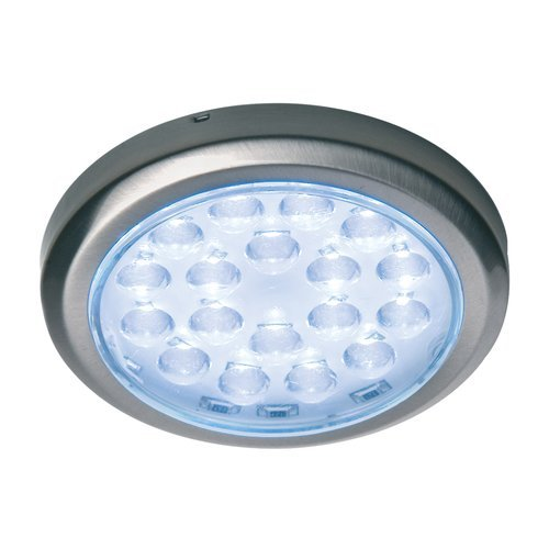 Hafele Luminoso 12V LED Surface Mount Spot Chrome/Warm White 830.64.231