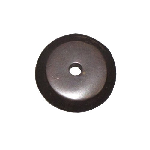 Top Knobs Aspen 7/8 Inch Diameter Medium Bronze Back-plate M1457