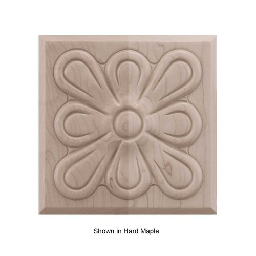 Brown Wood Medium Fleur Tile Unfinished Red Oak 01902515AK1