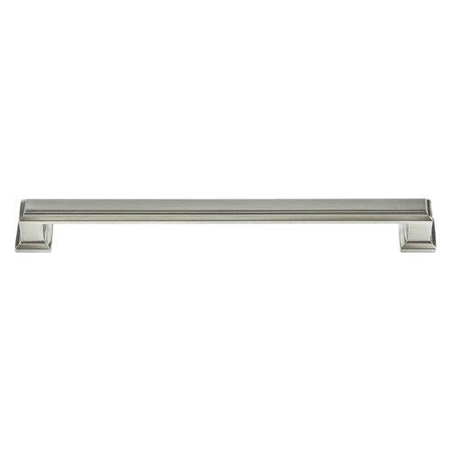 Atlas Homewares Sutton Place 7-9/16 Inch Center to Center Brushed Nickel Cabinet Pull 293-BRN