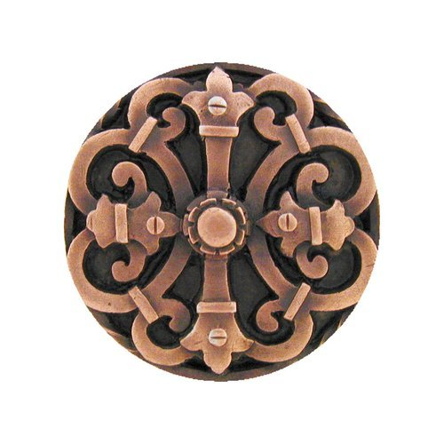 Notting Hill Olde Worlde 1-5/8 Inch Diameter Antique Copper Cabinet Knob NHK-176-AC
