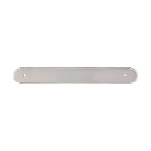 Top Knobs Appliance Pull 12 Inch Center to Center Brushed Satin Nickel Back-plate M865