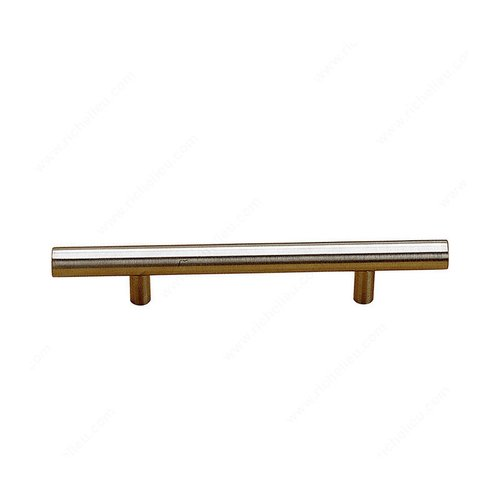 Richelieu Antimicrobial 5-5/8 Inch Center to Center Stainless Steel Cabinet Pull BP3487143170AB