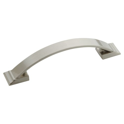 Amerock Candler 3-3/4 Inch Center to Center Satin Nickel Cabinet Pull BP29355G10
