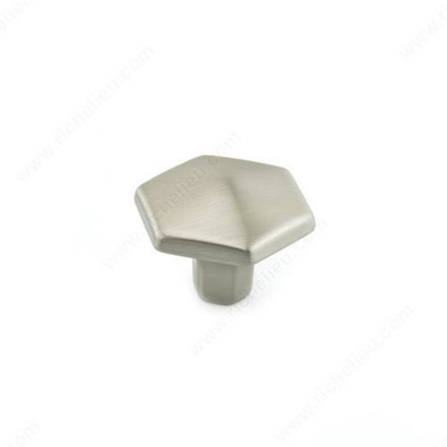 Richelieu Honeycomb 1-3/16 Inch Diameter Brushed Nickel Cabinet Knob 507830195