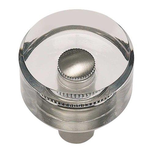 Atlas Homewares Optimism 1-3/16 Inch Diameter Brushed Nickel Cabinet Knob 3146-BRN