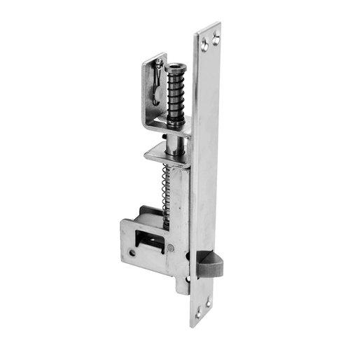 Don-Jo UL Rated Automatic Flush Bolt For Wood Doors Satin Chrome 1562-626