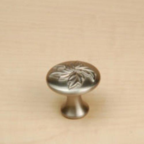 Century Hardware Aspen 1-3/16 Inch Diameter Dull Satin Nickel Cabinet Knob 23025-DSN