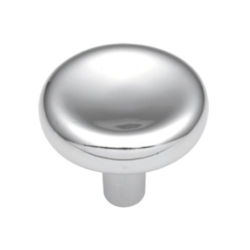 Eclipse 1-1/4 Inch Diameter Chrome Cabinet Knob <small>(#P204-26)</small>