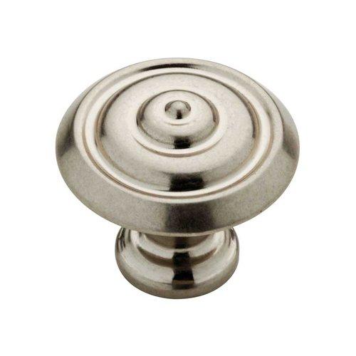 Liberty Hardware Abella 1-1/4 Inch Diameter Bedford Nickel Cabinet Knob P28194-475-C
