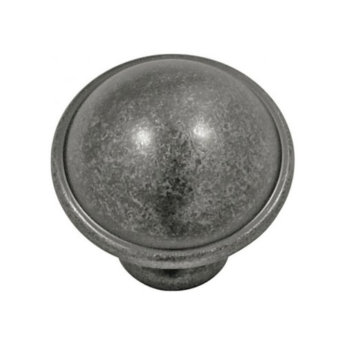 Savoy 1-1/4 Inch Diameter Black Nickel Vibed Cabinet Knob <small>(#P2243-BNV)</small>
