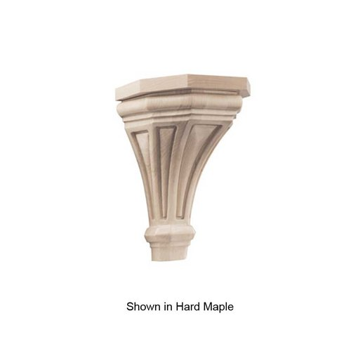 Brown Wood Pinnacle Medium Corbel Unfinished Walnut 01607216WL1