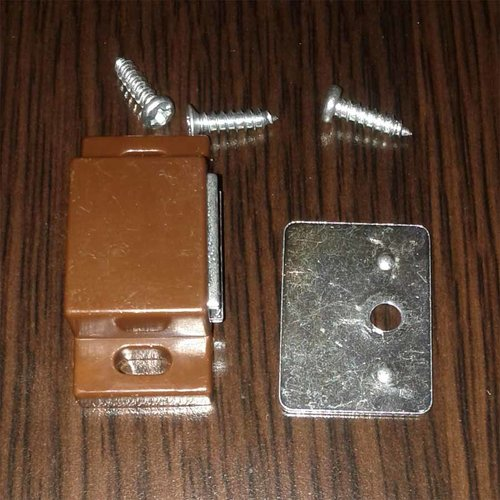 Single Magnetic Catch - Brown