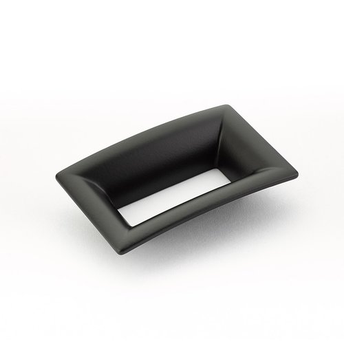 Schaub and Company Finestrino 2-1/2 Inch Center to Center Matte Black Cabinet Pull 441-MB