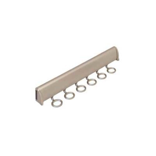 "Hafele Elite Scarf Rack Polished Chrome 13-7/8"" L - 6 Hook 807.67.223"