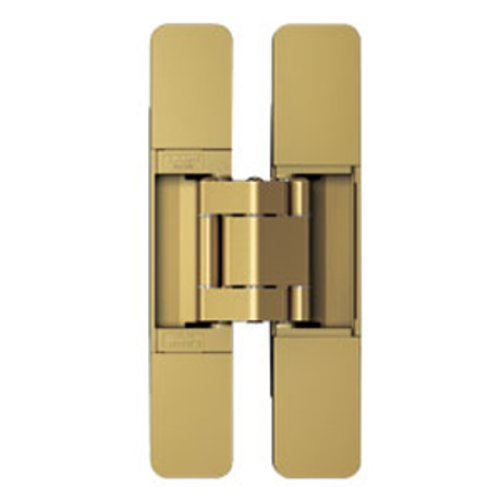 Sugatsune 3 Way Adjustable Hinge-Matte Gold HES3D-160GL