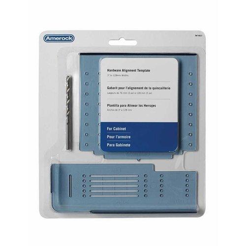Amerock Hardware Multi Installation Template TMPMULTI