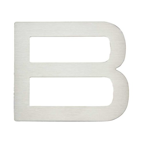 "Atlas Homewares Paragon House Letter ""B inch Stainless Steel PGNB-SS"