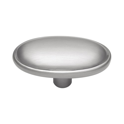 Hickory Hardware Tranquility 1-11/16 Inch Diameter Satin Silver Cloud Cabinet Knob P517-SC