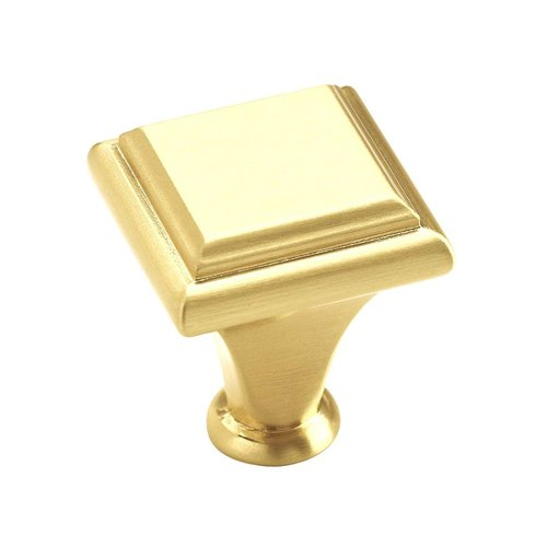 "Amerock Manor Knob 1"" Dia. Brushed Brass BP26131O74"